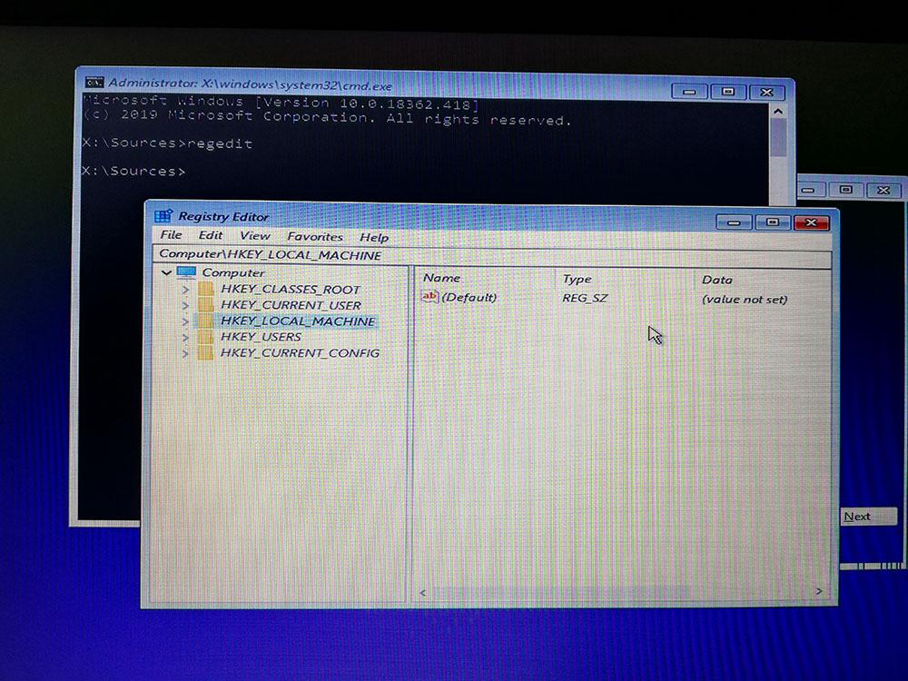 Thư mục (key) HKEY_LOCAL_MACHINE
