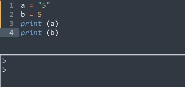 Ép kiểu trong Python