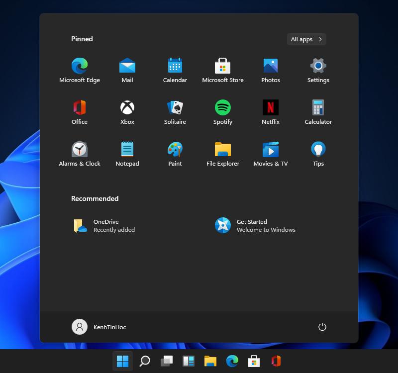 Chế độ tối (Dark Mode) trên Windows 11