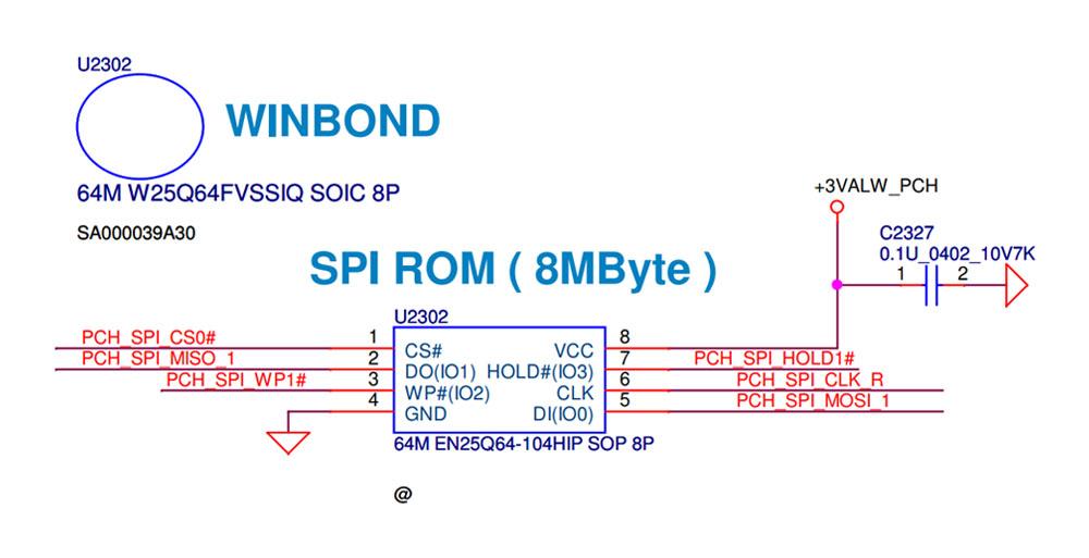 ROM BIOS máy Dell Inspiron 5543